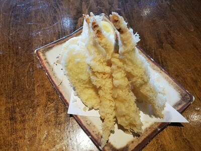 Prawn & Sweet Potato Tempura