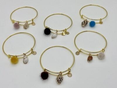 Pom Pom Bracelets