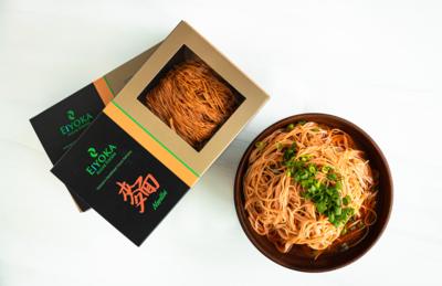 低鹽版微藻手工麵 Low Sodium Scarlet Noodles