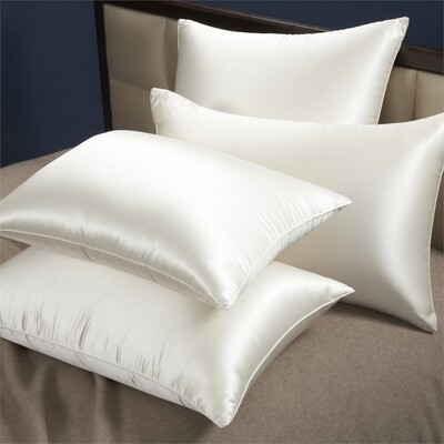 The Splurge - Silk European Goose Down Pillow