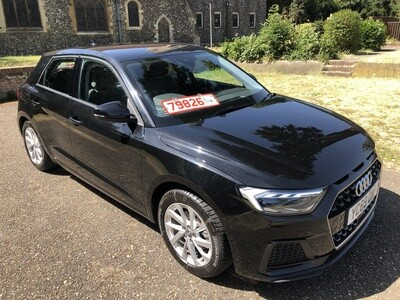 SOLD..AUDI NEW A1 1.0 TFSI AUTO 69 REG NEW SHAPE 1,100 MILES ONLY!