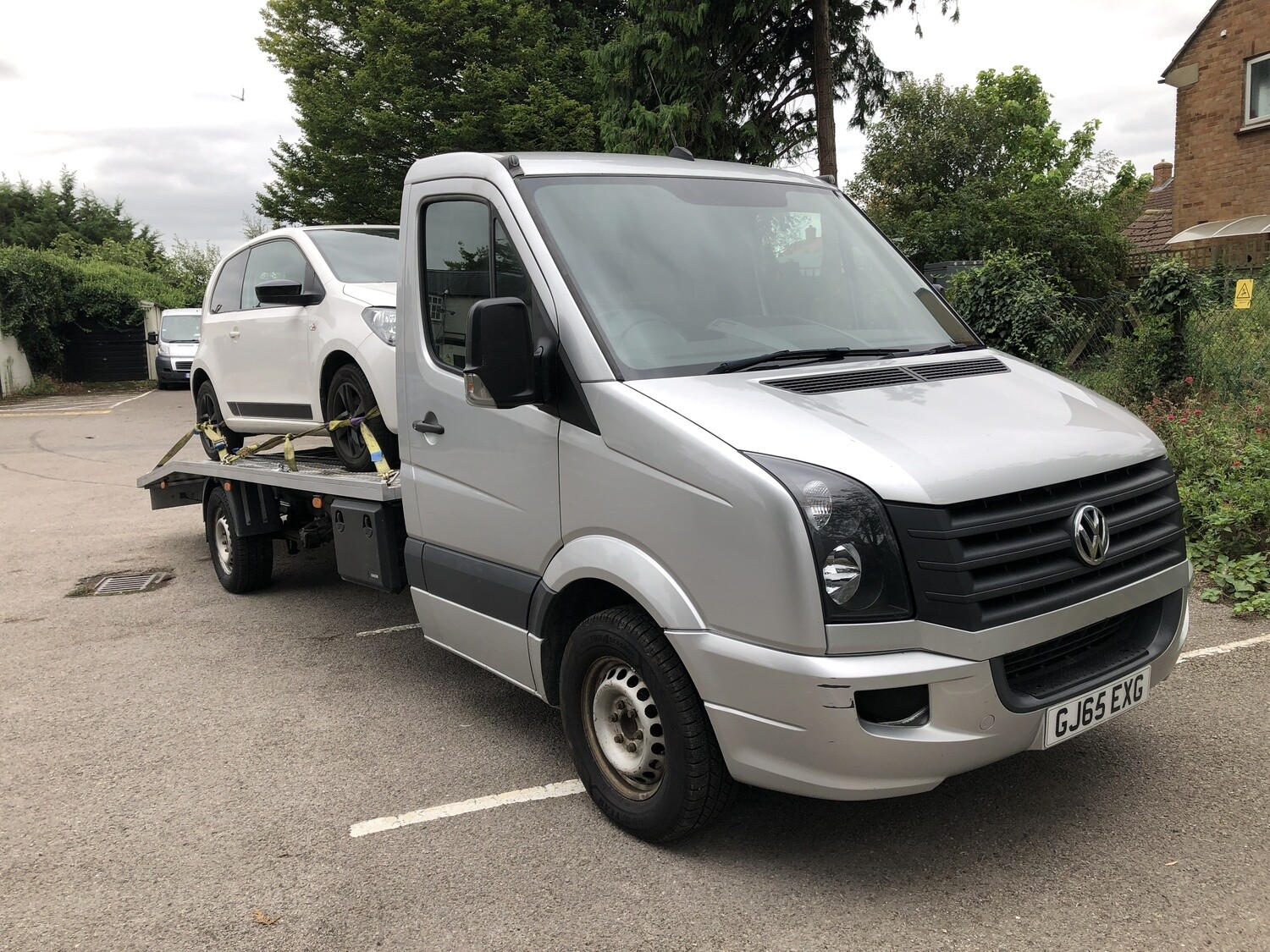 65 REG VW CRAFTER RECOVERY TRUCK,CR35 TDI 6 SPEED RECENT BED,WINCH ,AIR SUSPENSION 96K MILES ONLY **NO VAT**