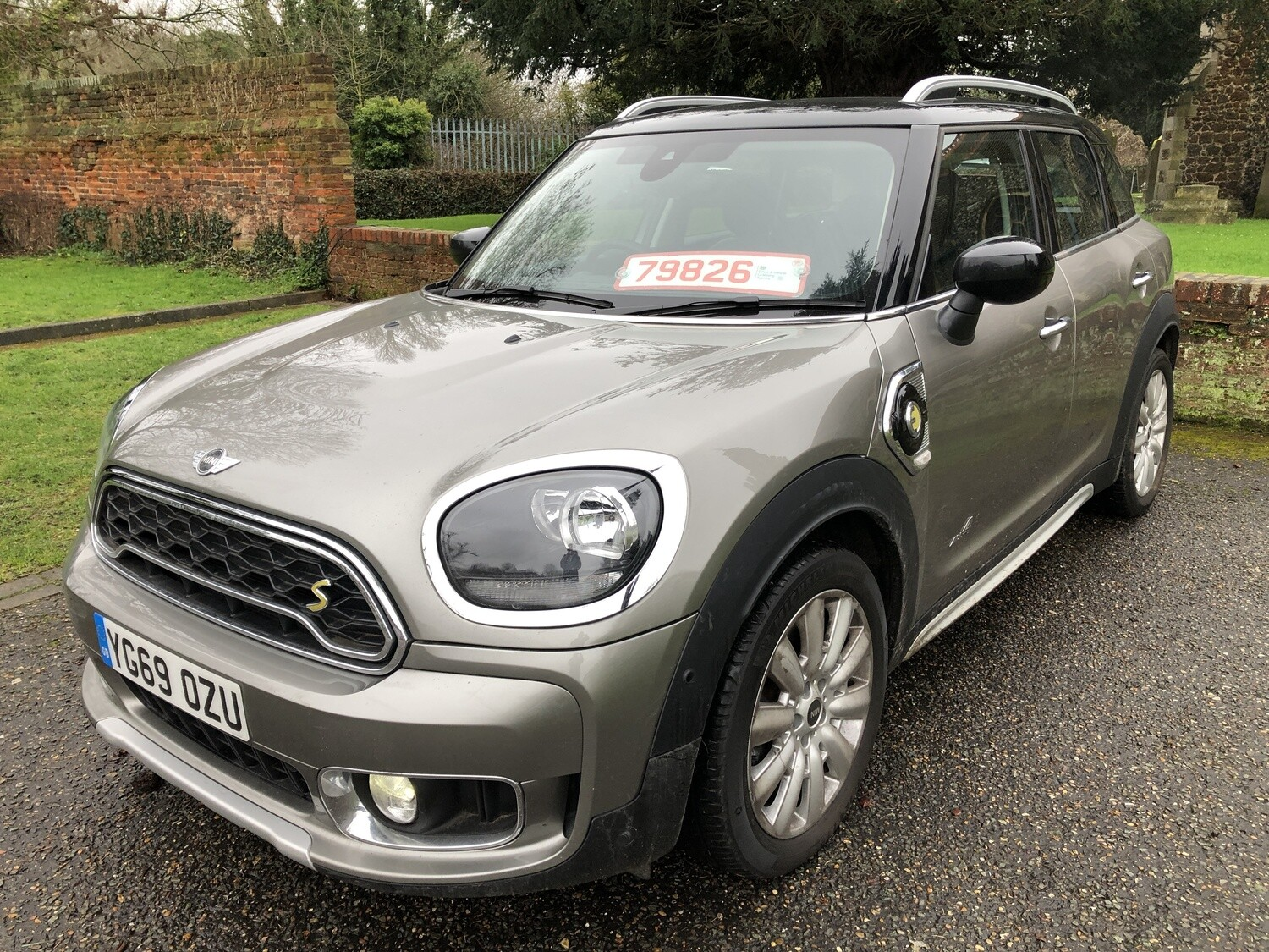 MINI Countryman | YG69OZU SUV (2019 - 2020) 1.5E PHEV 10kWh 8.8kWh Cooper SE Exclusive Auto ALL4 (s/s) 5dr  PLUG IN HYBRID ELECTRIC MINI Asking price  CAT S Repaired hence bargain £20994