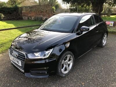2016 Audi A1 1.0 TFSI 3DR BLACK **FREE TAX MODEL** 😮
