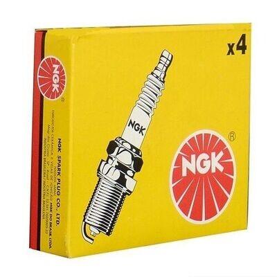 NGK BKR7E-11 Spark Plugs x4