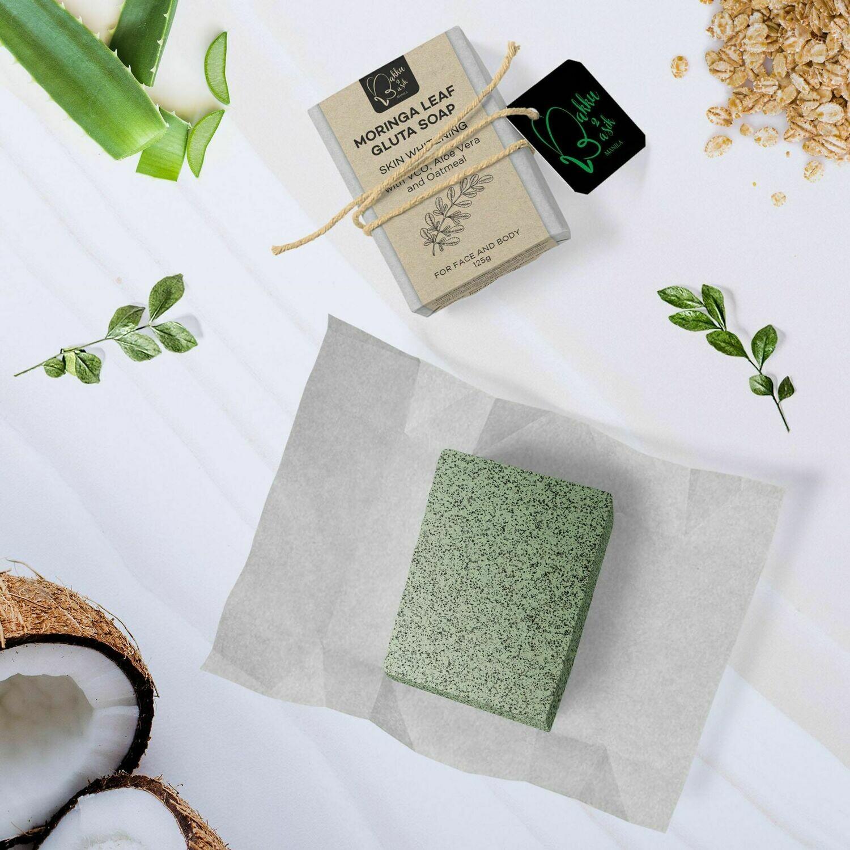 Moringa Leaf Whitening Soap