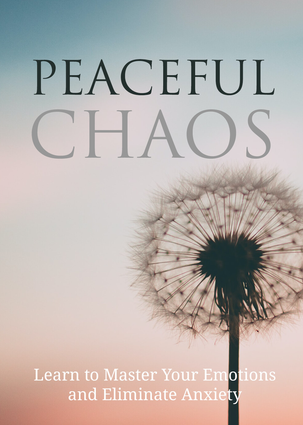 Peaceful Chaos, Learn to Master Your Emotions and Eliminate Anxiety