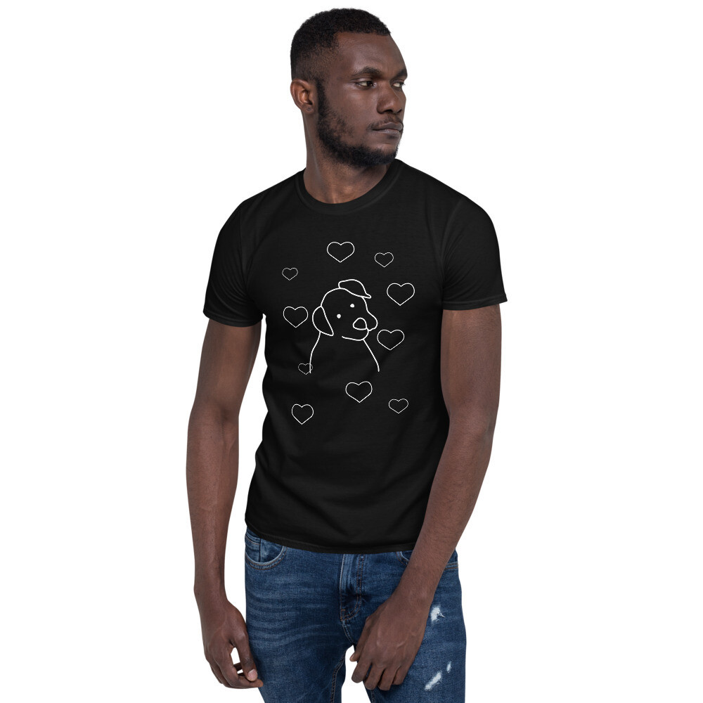 Love Dog Short-Sleeve Unisex T-Shirt