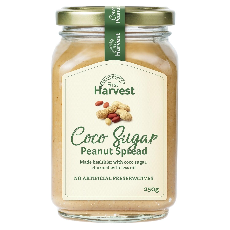 First Harvest Coco Sugar Peanut Spread 250g