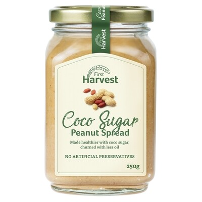 First Harvest Coco Sugar Peanut Spread 250g