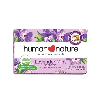 Lavender Scented Cleansing Bar 120g