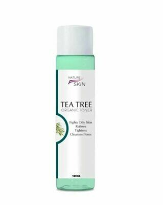 BEST SELLER - NATURE SKIN - ORGANIC TEA TREE TONER