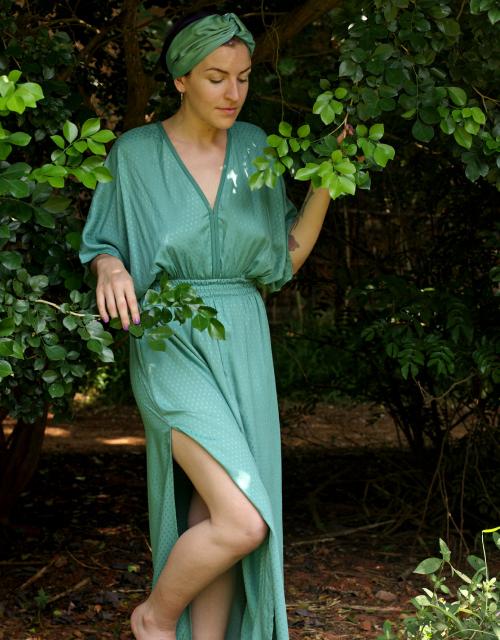 SKY DRESS GREEN