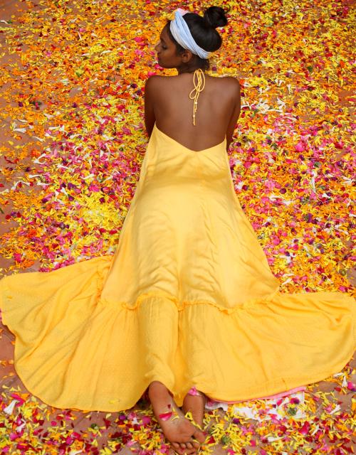 IRENA DRESS YELLOW