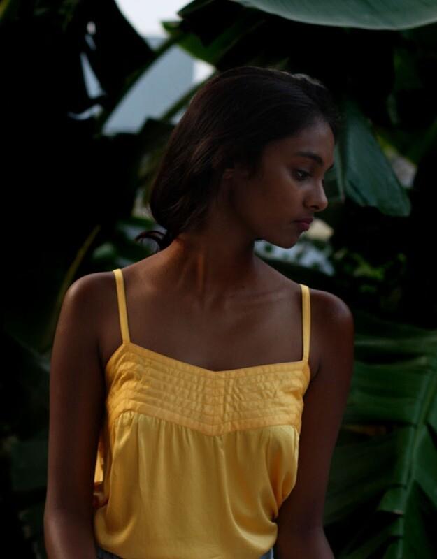 SRAVYA SINGLET YELLOW