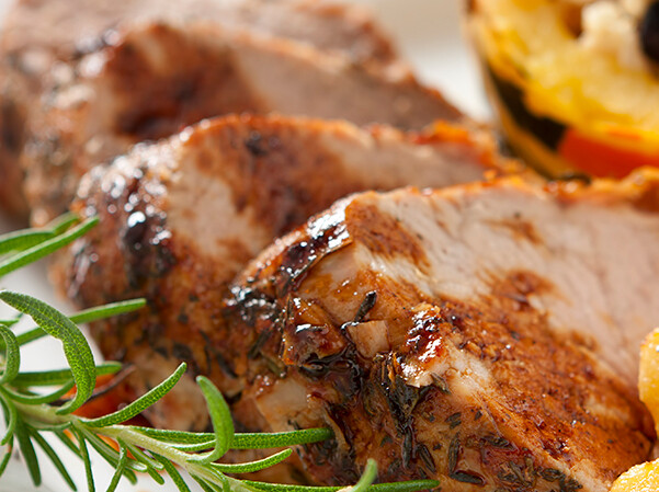 WED, SEPT 30: Coriander Chili-Crusted Pork Loin