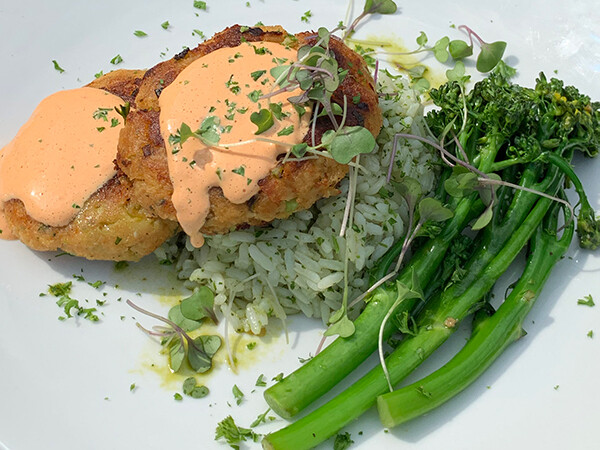 MON, MARCH 1: Beau's Famous Crab Cakes