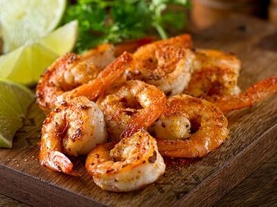 FRI, MAY 21: Blackened Shrimp Tacos