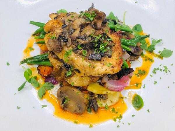 WED, APRIL 7: Chicken Marsala