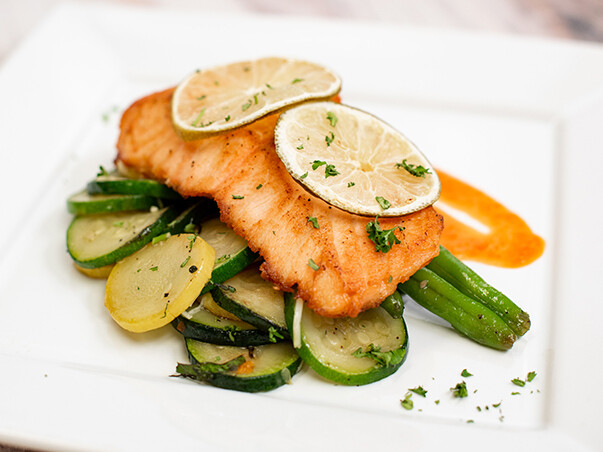 MON, OCT 4: Lime-Baked Salmon