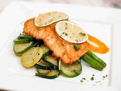 WED, JUNE 16: Lime Baked Salmon