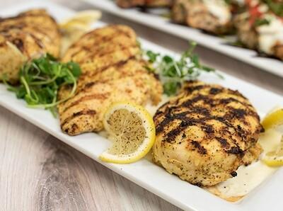 WED, AUG 4: Grilled Chicken + Gorgonzola