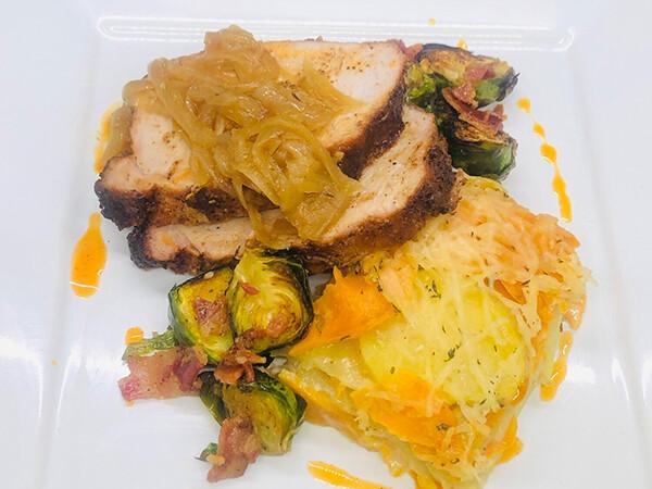 FRI, OCT 1: Chili-Crusted Pork Loin