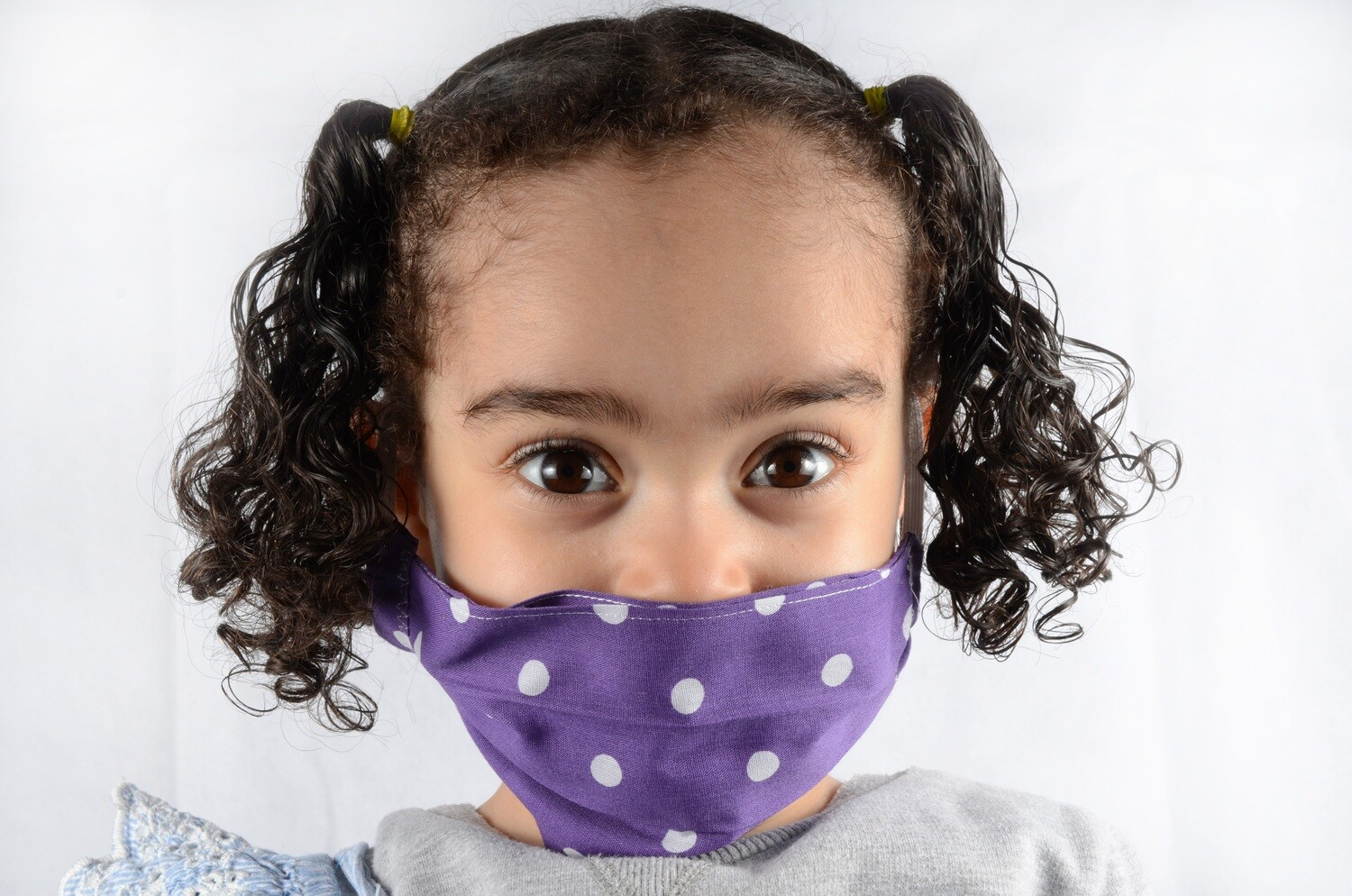 6-11 years purple kids teen & adult face mask washable