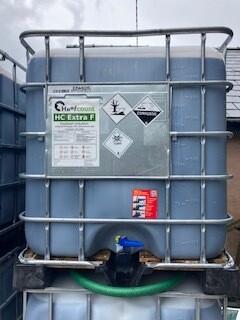 Hoofcount 'Extra F' Formaldehyde solution- 1000L IBC