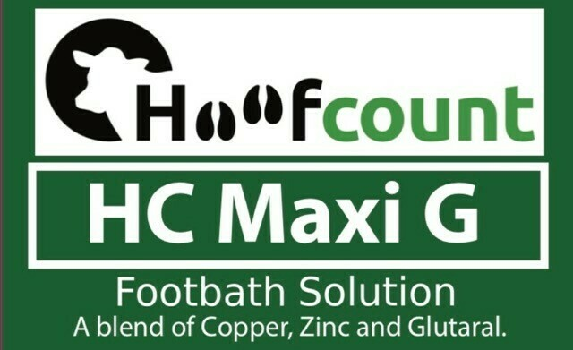 Hoofcount 'Maxi G' Glutaraldehyde Solution- 1000L IBC
