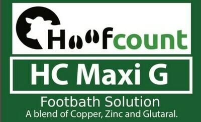 Hoofcount 'Maxi G' Glutaraldehyde Solution- 1000L IBC