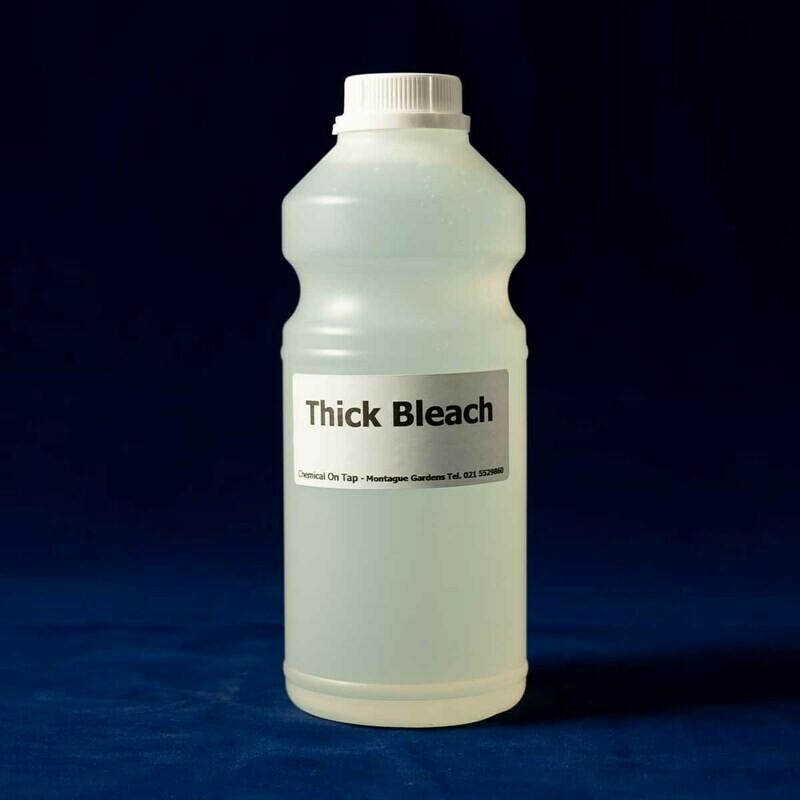 Bleach Thick in 750ml, 1ltr, 2ltr, 5ltr