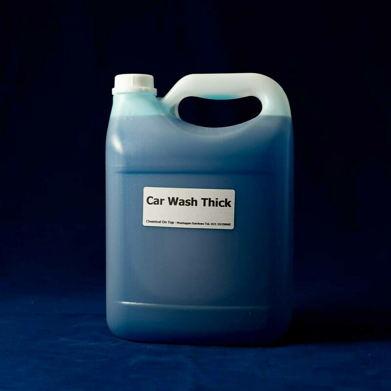 Car Wash Thick - Hi-Foam Shampoo in 2ltr, 5ltr