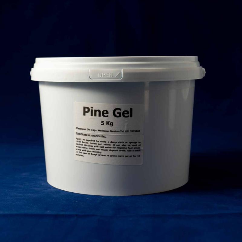 Pine Gel in 1kg & 5kgs