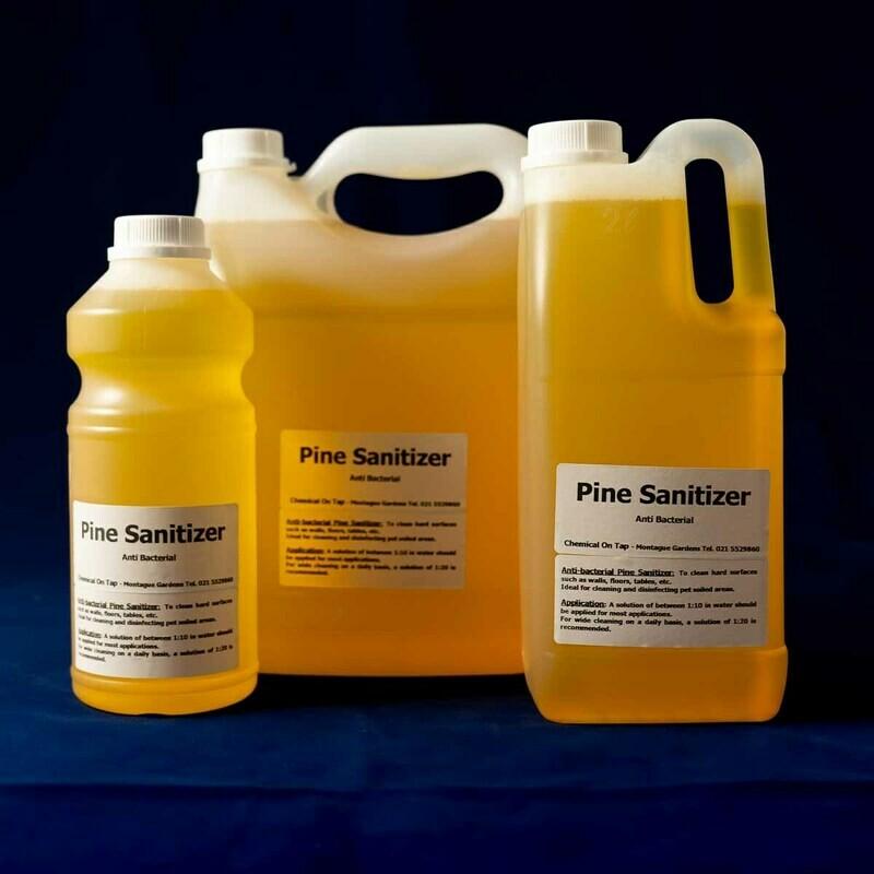 Sanitizer / Surface Cleaner, Pine - Antibacterial in 1ltr, 2ltr, 5ltr & 25ltr