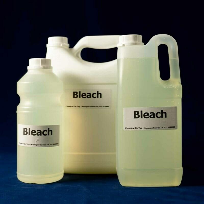 Bleach in 1ltr, 2ltr, 5ltr