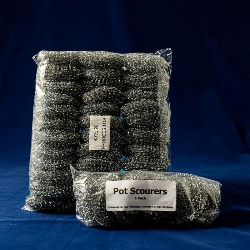 Metal Pot Scourers - 6 Pack & 36 Pack