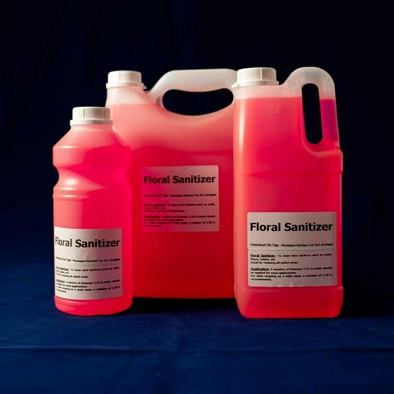 Sanitizer/ Surface Cleaner - Floral in 1ltr, 2Ltr, 5ltr