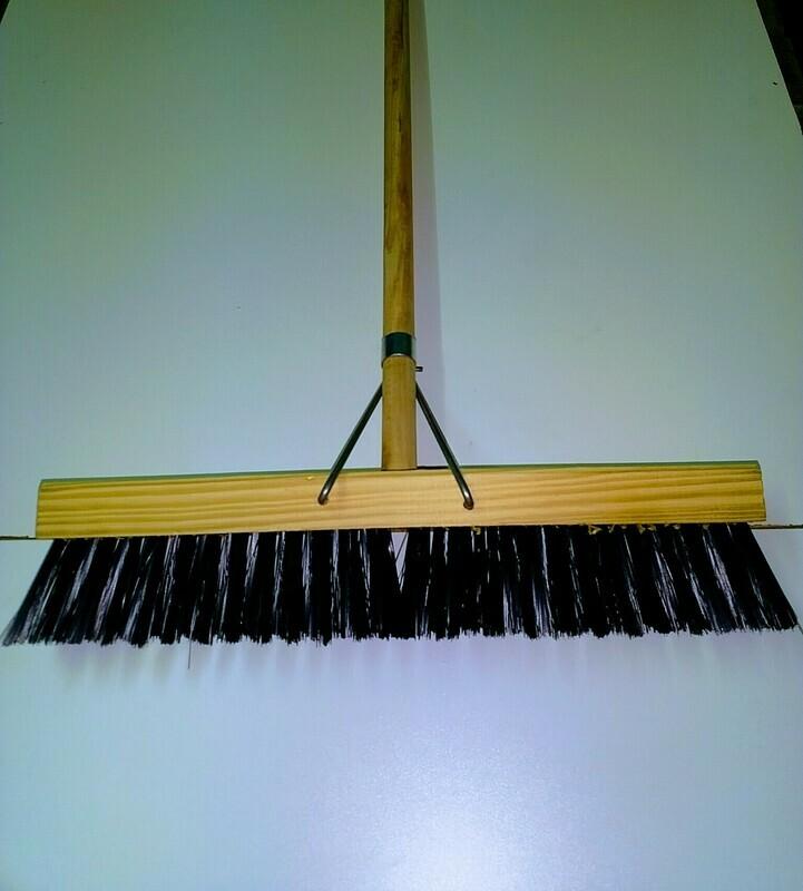 Broom, Platform soft bristle - 450mm width