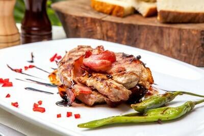 Mușchiuleț de porc la grătar