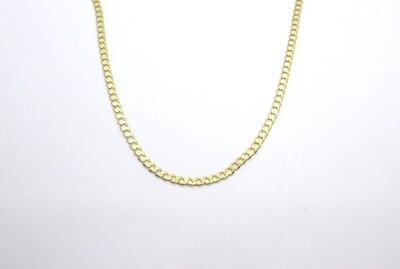 Cadena de caballero en oro de 10k