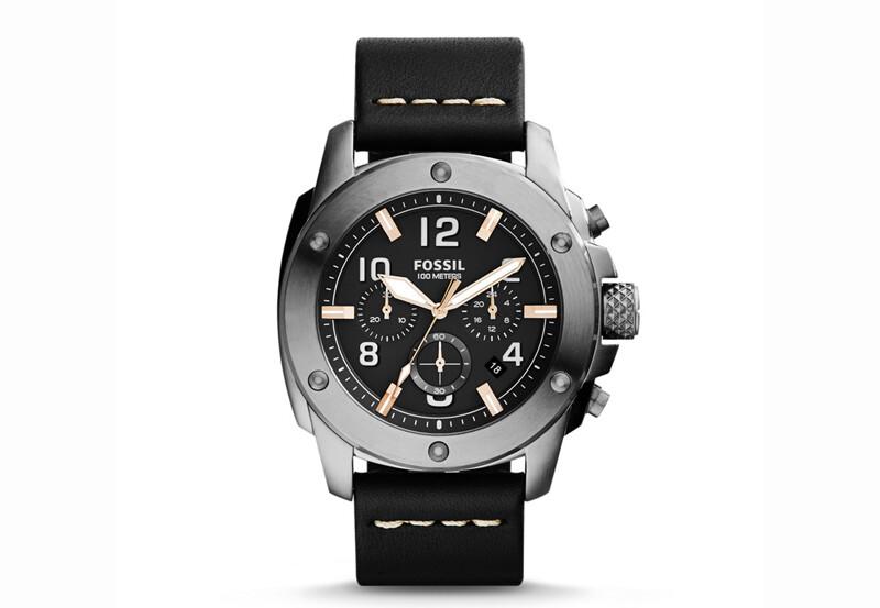 Reloj FOSSIL con cronografo de caballero (batería)