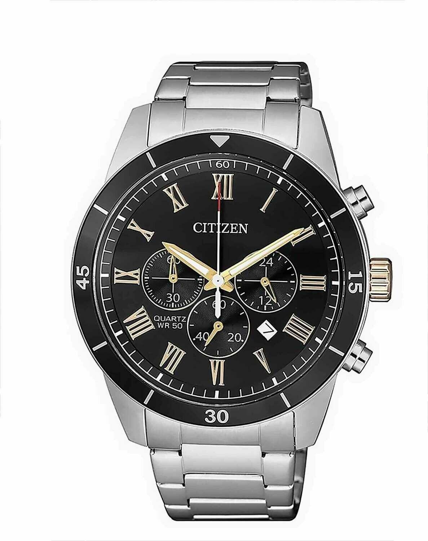 Reloj CITIZEN con cronografo de caballero (batería)