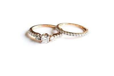 Anillos de matrimonio en oro 10k