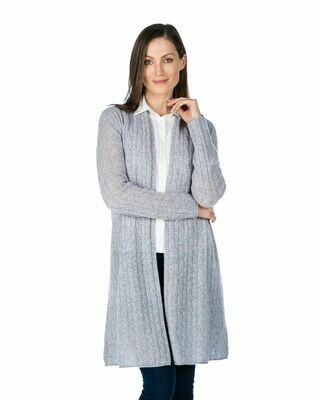 Duster 100% Cashmere Breezy Cable