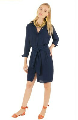 Dress Chiffon Breezy Blouson (Gretchen Scott)