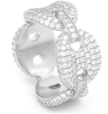 Ring Bling Micro pave cubic zirconium