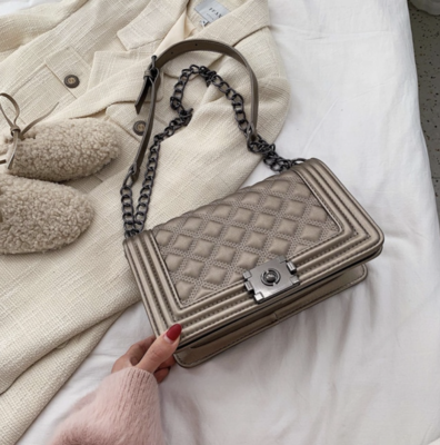 Clutch/Bag Gaby Quilted Vegan Leather
