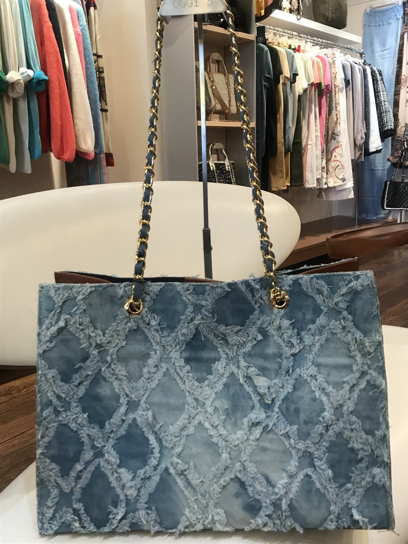 Handbag Croisillons with extra pochette