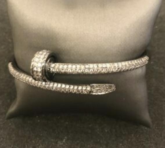 Bracelet Nail Pavé